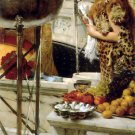 Preparation in the Coliseum 1912 Victorian canvas art print by Lawrence Alma Tadema