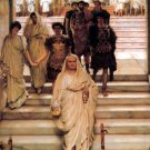 The Triumph of Titus 1885  Victorian canvas art print by Lawrence Alma Tadema