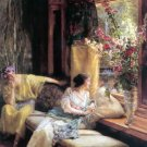 Vain Courtship 1900 Victorian canvas art print by Lawrence Alma Tadema