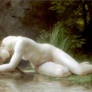 Biblis 1884 woman canvas art print by William Adolphe Bouguereau