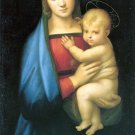 Granduca Madonna Christian Jesus bible canvas art print by Raphael