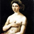 La Fornarina woman canvas art print by Raphael