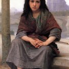 Bohémienne 1890 The Bohemian girl canvas art print by William Adolphe Bouguereau
