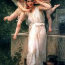 Jeunesse 1893 Youth woman canvas art print by William Adolphe Bouguereau