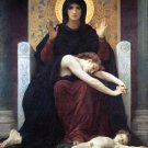 The Virgin of Consolation canvas art print William Adolphe Bouguereau