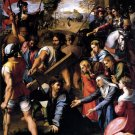 Christ Carrying the Cross religious Jesus canvas art print by Raphael