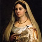 Portrait of Donna Dona Velata 1516 canvas art print by Raphael