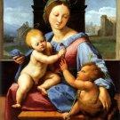 Garvagh Madonna 1510 Aldobrandini Bible canvas art print by Raphael