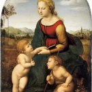 La Belle Jardiniere 1507 woman canvas art print by Raphael