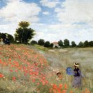 Mohnblumen 1873 landscape canvas art print by Claude Monet
