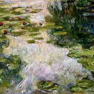 Water Lilies 1919 landscape canvas art print by Claude Monet
