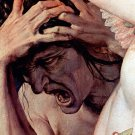 Allegory of the Triumph of Venus Detail II 1540-1545 canvas art print by  Agnolo Bronzino