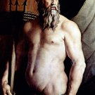Portrait of Andrea Doria as Neptune man canvas art print by  Agnolo Bronzino