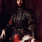 Portrait of Guidobaldo II della Rovere 1532 man canvas art print by  Agnolo Bronzino