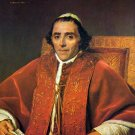 Portrait of Pope Pius VII canvas art print by Jacques Louis David