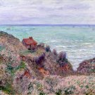 Cabin of the Customs Watch 1882 seascape canvas art print by Claude Monet