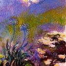 Blue Tuberosen landscape canvas art print by Claude Monet