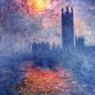 Das Parlament, Parliament in London 1904 cityscape canvas art print by Claude Monet