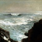 Cannon Rock 1895 seascape canvas art print by Winslow Homer