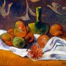 Fruits Still Life canvas art print by Paul Gauguin