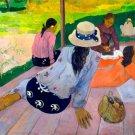 The Siesta ca 1894 women canvas art print by Paul Gauguin