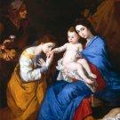 The Holy Family, Saints Anne canvas art print by Jusepe de Ribera