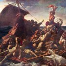 The Raft of the Medusa 1819 seascape canvas art print by Théodore Géricault