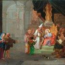 Christ among the Doctors religious Christian canvas art print Hondius