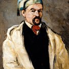 Antoine Dominique Sauveur Aubert the Artist's Uncle 1866 portrait canvas art print by Paul Cezanne