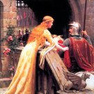 God Speed 1900 woman canvas art print by Edmund Blair Leighton