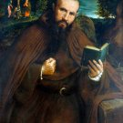 Brother Gregorio Belo of Vicenza man Christian canvas art print Lotto