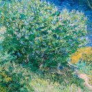 Lilac Bush water landscape canvas art print by Vincent van Gogh