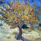 Mulberry Tree landscape country canvas art print by Vincent van Gogh