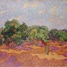 Olive Trees 1889 landscape canvas art print by Vincent van Gogh