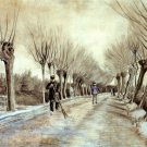 Road in Etten 1881 landscape canvas art print by Vincent van Gogh