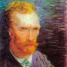 Self-Portrait II 1887 man canvas art print by Vincent van Gogh