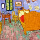The Bedroom genre  home canvas art print by Vincent van Gogh