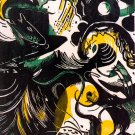 Creation Stories religious Bible canvas art print by Franz Marc