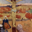 Yellow Christ Jesus Christ religious canvas art print by Paul Gauguin