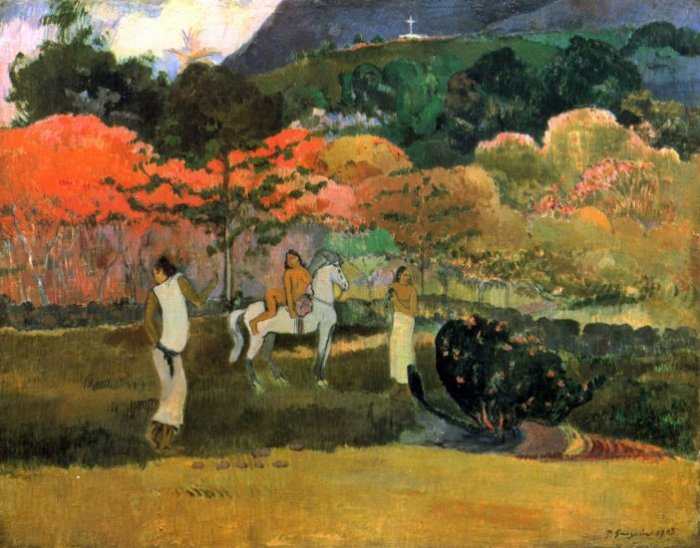 Women and Mold 1903 women canvas art print by Paul Gauguin