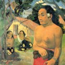 Where Do You women canvas art print by Paul Gauguin