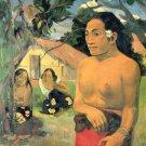 Where Do You women canvas art print by Paul Gauguin