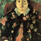 Suzanne Bumbridge woman portrait canvas art print by Paul Gauguin