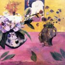 Still Life with Japanese Woodblock canvas art print by Paul Gauguin