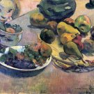 Still Life with Fruit canvas art print by Paul Gauguin