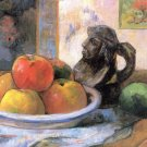 Still Life with Apples Pears and Krag canvas art print by Paul Gauguin