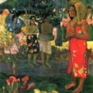 La Orana women canvas art print by Paul Gauguin
