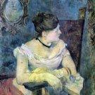 Madame Gauguin portrait woman canvas art print by Paul Gauguin