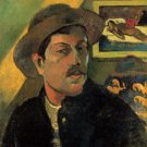Self Portrait canvas art print by Paul Gauguin