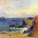 Rocky Coast seascape canvas art print by Paul Gauguin